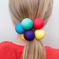 Ping-Pong Hair Bobble
