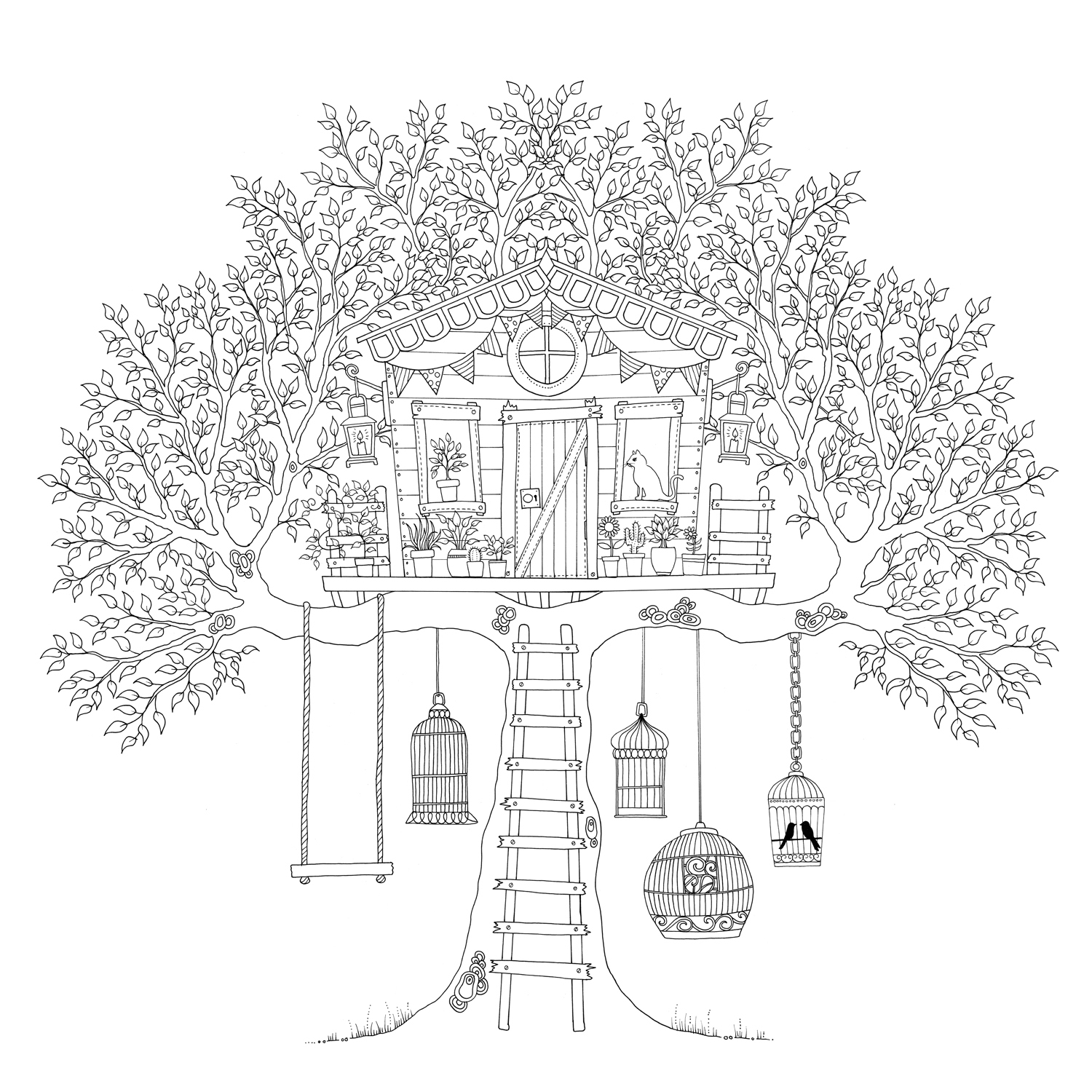 The secret garden coloring book download