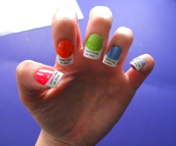 Pantone Chip Nails 183 Craft Finds 183 Cut Out Keep Craft Blog