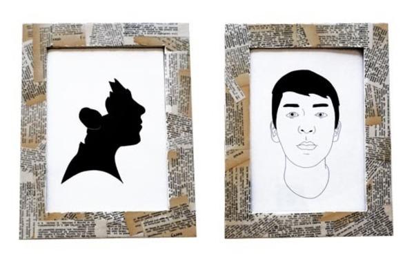 DIY Vintage Frames · Craft Finds · Cut Out + Keep Craft Blog