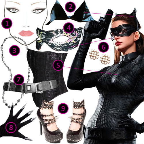 how to make your own cat woman ears