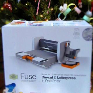 Fuse die-cut & letterpress