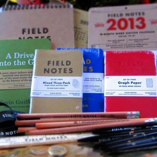 Notebooks & goodies