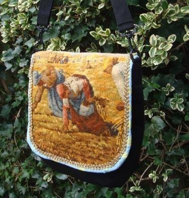 Messengerbag With Painting