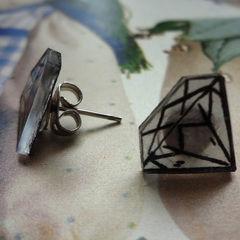 2 D Diamond Studs