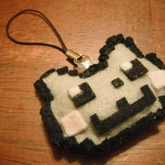 Nyan Cat Phone Charm