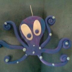 Sculpey Octopus