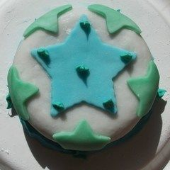 Star Fondant Cake