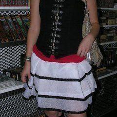 Retro Nautical Skirt