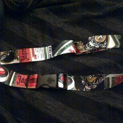 A Belt Out Of A Key Chain Lanyard