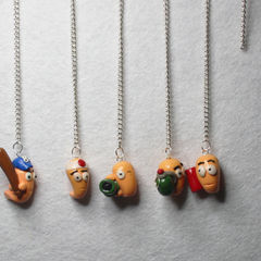 "Worms In Polymer Clay ""Originals"""