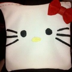 Hello Kitty Pencil Pouch From A T Shirt