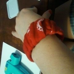 Fabric / Ribbon Wrap Bracelets