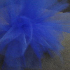 Tulle Elastic Hairpiece