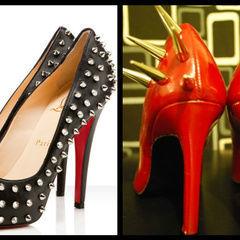 Diy Spiked/Studded Heels