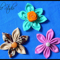 Fabric Daisy Flower