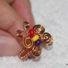 Butterfly Ring Wireworks