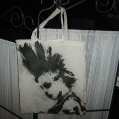 Punk Rock Stenciled Bag