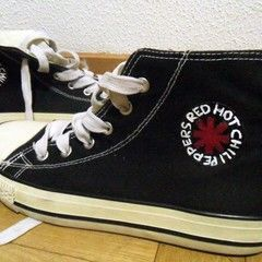 Red Hot Chili Peppers Converse
