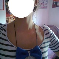 Bow Necklace, Easy Style!