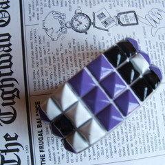 Reconstructed Stud Bracelet