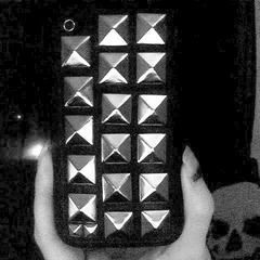 Studded I Phone Cover