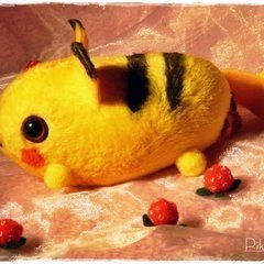 Pika Mouse Plushie