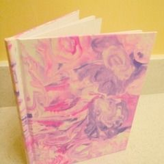 Marbled Journal Cover