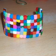 Meltie Beads Cuffs