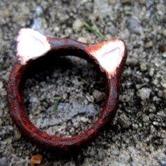 Red Panda Ears Ring