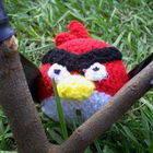 Angry Birds Amigurumi Red Bird Plushie
