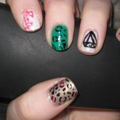 Lmfao Inspired Nails