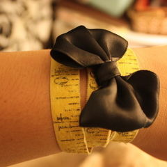 Tape Measure Bracelet