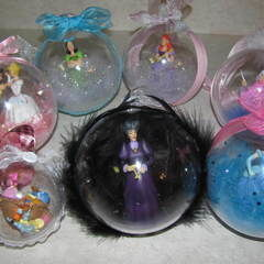 Diy Disney Christmas Ornaments!