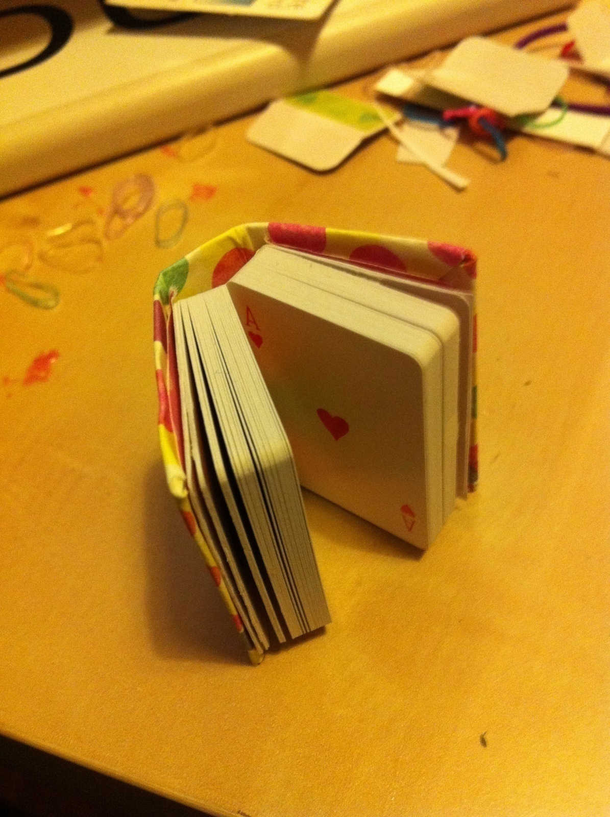 Mini Playing Cards Book · How To Make A Playing Card
