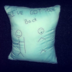 I've Got Your Back Cushion Cover.