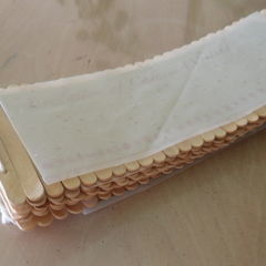 Popsicle Sticks Book