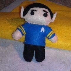 Mr. Spock Plushie
