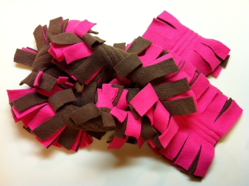 Fringe Fleece Scarf · How To Make A Fabric Scarf · Sewing ...