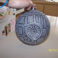 My Deathstar Christmas Decoration