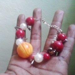 Sue's Beaded Holiday Bracelet