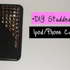 Studded Ipod/Phone Case