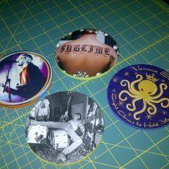 Coasters From Album Art