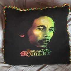 Tshirt Pillow W/ Braided Edge