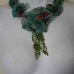 Chiffon Fabric Necklace