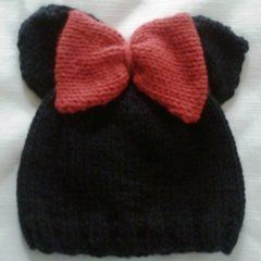 Baby Minnie Hat