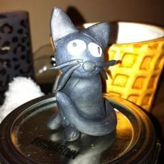 Cats I Made Using Polymer Clay