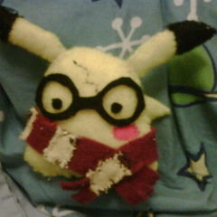 Harry Potter Pikachu Plushie!