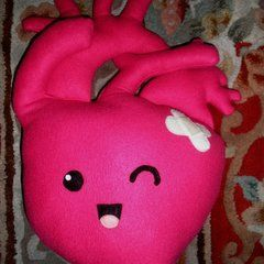 Pumpy The Plush Heart