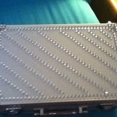 Bedazzled Makeup Case